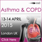 Asthma and COPD 2015: Exploring the future of therapeutics, diagnosis and care, 13 - 14 April 2015 Holiday Inn Regents Pak Hotel, London UK