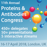 11th Annual Proteins & Antibodies Congress, 16-17 April 2018, London, UK