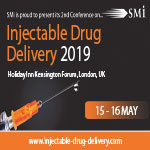 Injectable Drug Delivery 2019, 15th – 16th May 2019, Copthorne Tara Hotel Kensington, London