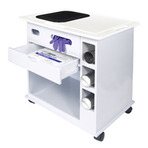 ProGard NU-96 Polypropylene Laboratory Supply Cart